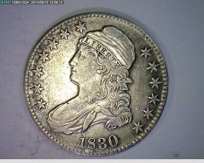 1830 BUST HALF DOLLAR   77 81