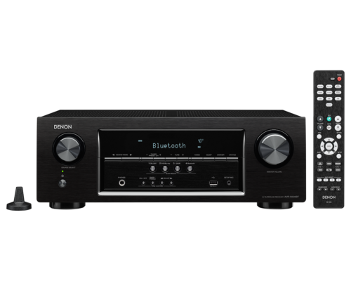Denon AVR-S530BT 5.2 Channel Full 4K Ultra HD AV Receiver wi