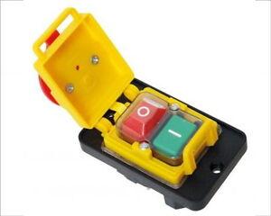 Einbauschalter, Hauptschalter 2 polig Not Aus Schalter Elektroschalter Neu OVP