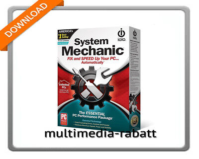 Avanquest iolo System Mechanic  Standart | 1 Jahres Lizenz | Digital Download