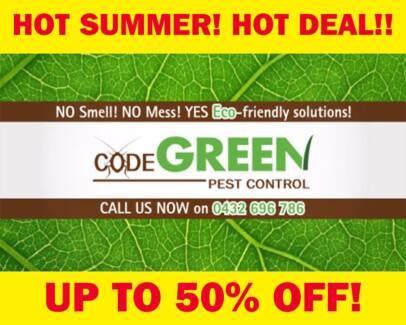 Ryde code green pest control