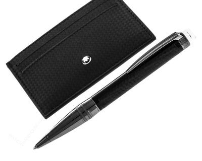 Montblanc Extreme Set StarWalker Ballpoint Pen & Pocket Holder 116040 New Orig](mont blanc pen deals)