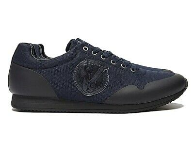Versace Jeans Couture E0GTBSA1 70916 Lina Fondo Mens Trainers Navy Sneakers