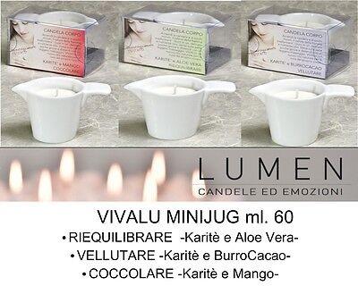CANDELA DA MASSAGGIO Lumen -Linea VIVALU MINI Mini jug - l'ORIGINALE