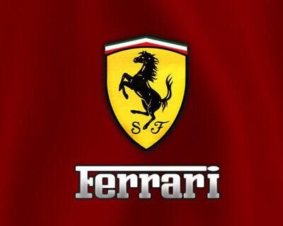 Ferrari Badge Fridge Magnet