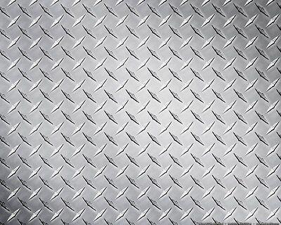 Aluminum Alloy 3003 Treadbright Diamond Plate Sheet 24 X 24 X .025 3pc Lot