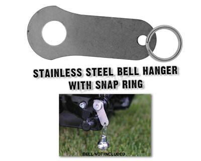 STAINLESS STEEL BELL HANGER WORKS WITH HARLEY DAVIDSON, GREMLIN & GUARDIAN BELLS
