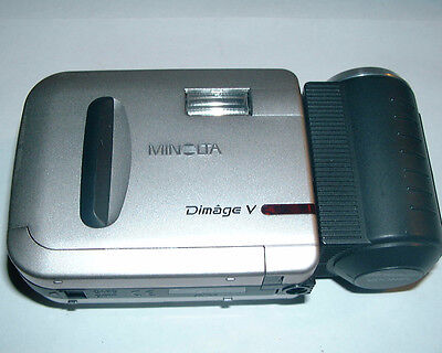 Digital Camera Power Supply - VINTAGE MINOLTA DIMAGE V DIGITAL CAMERA POWER SUPPLY W/ BUY IT NOW + CASE/STRAP