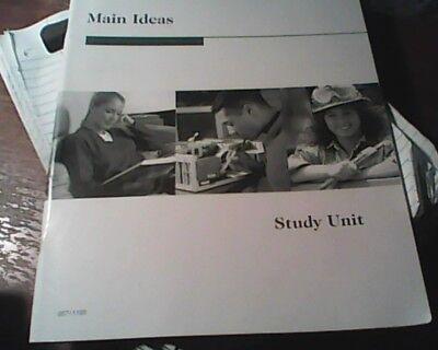 Homeschooling Penn Foster Main Ideas Study Unit