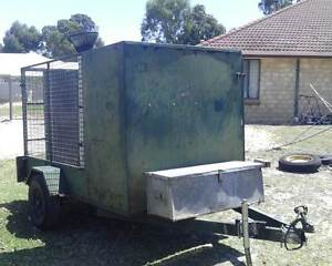 Polmac lawn mower / caged box trailer. West Busselton Busselton Area Preview