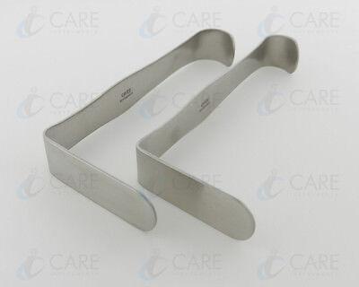 Parker Mott Retractor Set Of 2 Pieces Plastic Surgery Retractor Care Instruments