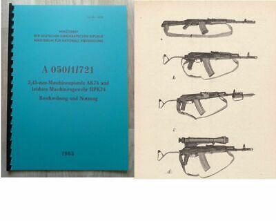 ☆ Original Sowjetarmee Kalaschnikow AKS-74U AKSU Tasche Hülle Case ☆