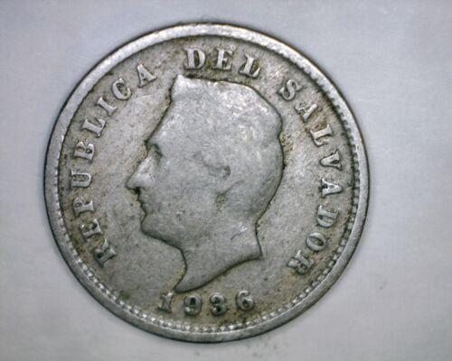 1936  1 Centavo  El Salvador