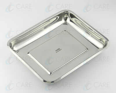 Surgical Instruments Tray 20cm X 25cm Veterinary Dental Medical Stainless Steel