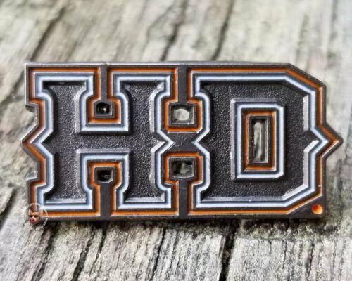 Harley Davidson®  H D Metal Vest Pin  Motorcycle Jacket Hat Pin