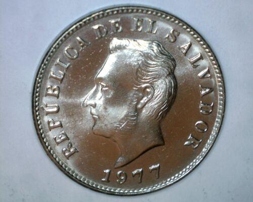 1977  5 Centavos   El Salvador   Nice Coin