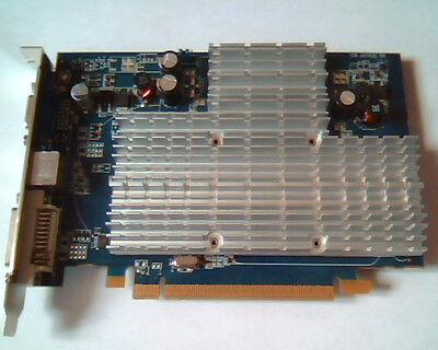 PCI-E express card 109-A67631-00 X1550 512M DDR2 188-0QC84-0H5SA 11093-19 DVI TV