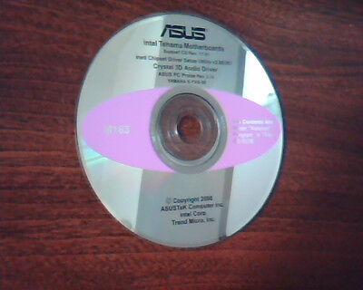 Asus Intel Tehama Motherboards Support Cd Crystal 3D Audio Driver Probe Setup