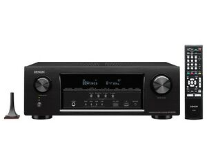 Denon AVR-S720W 4k receiver with Polk RM6750 5.1 system