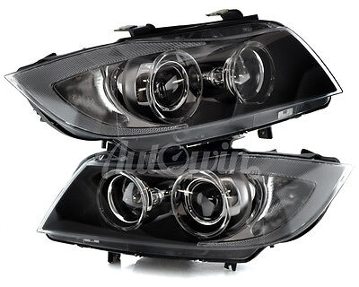BMW 3 SERIES E90 E91 BI XENON ADAPTIVE HEADLIGHT LEFT & RIGHT SIDE OEM NEW UK