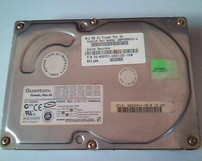 Hard Drive Disk IDE Quantum Fireball Plus AS 10.2GB QMP10000AS-A AS10A014-02-B