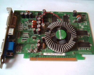 PCI-E express card ASUS A387C2 Rev 1.00a 08-170076810 EAX700-X 128M VGA DVI Vid