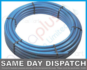 Coil blue water mains mdpe alkathene pipe roll 20mm 25mm for Water main pipe material