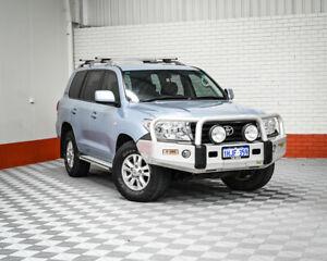 2010 Toyota Landcruiser VDJ200R MY10 60th Anniversary Blue 6 Speed Sports Automatic Wagon