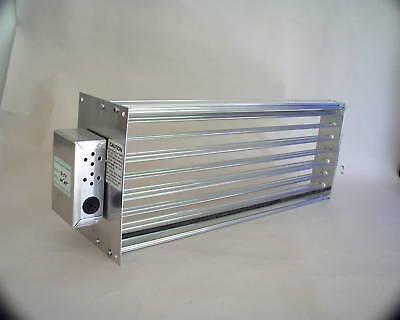 Motorized Zone Dampers - HVAC Motorized Zone Control Large Rectangular Damper