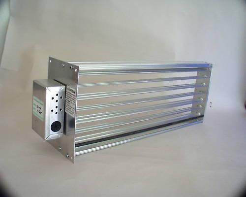 HVAC Motorized Zone Control Large Rectangular Damper
