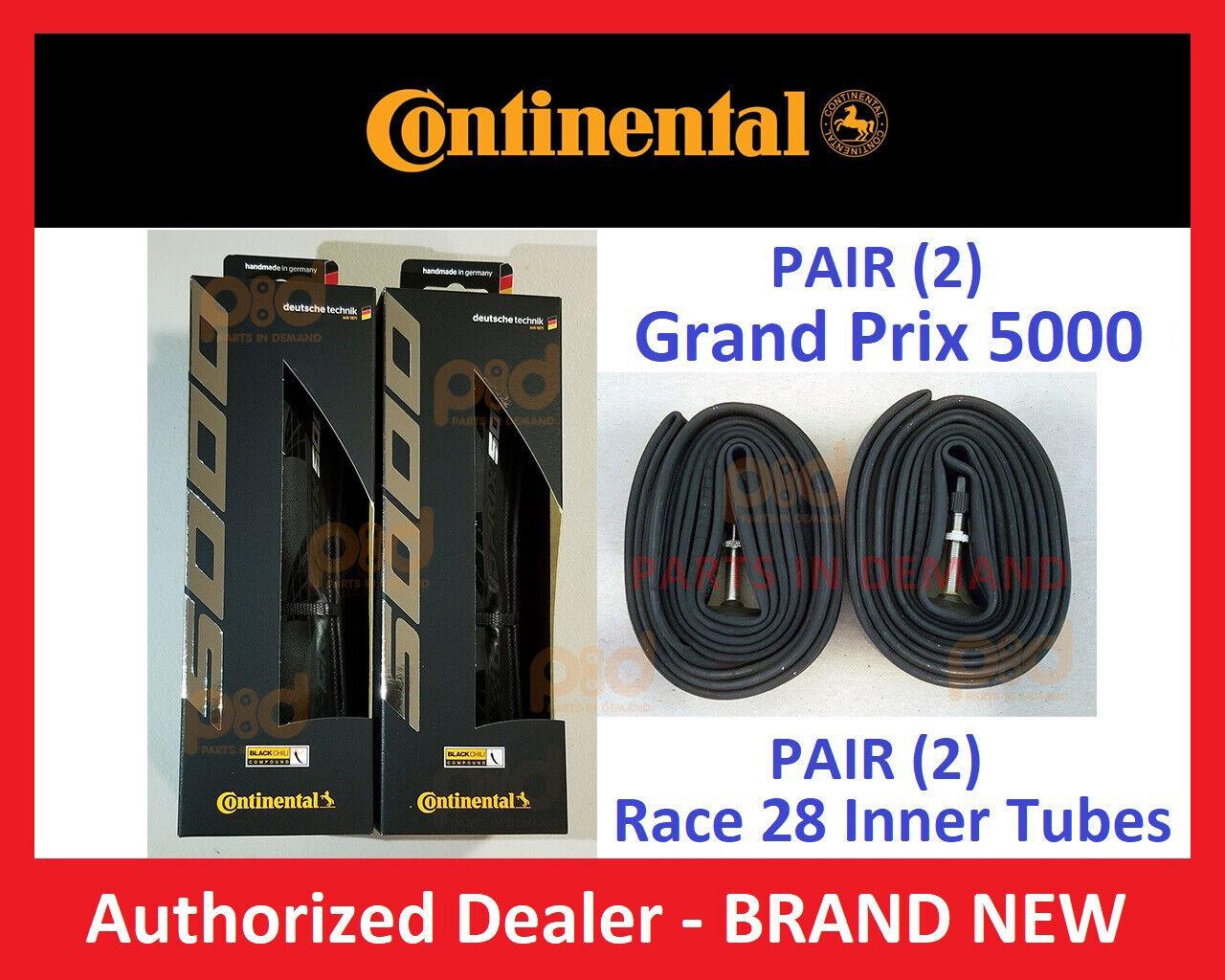 PAIR 2 Continental Grand Prix 5000 TIRES 700 x 23 25 28 32 I