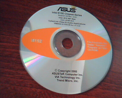 Asus Intel 815E Chipset Series Support Cd M152 Intel I815 Inf Ldcm Cyberlink
