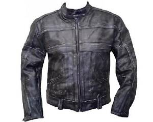 Motorcycle Biker distressed Leather Jacket Touring Jacket Clayton Monash Area Preview
