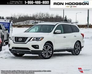 2017 Nissan Pathfinder LTHR|SROOF|NAVI|3RDROW|AWD|