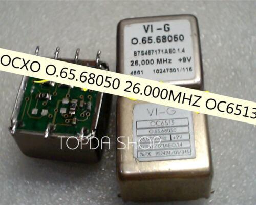 1pc used OCXO TCO-676A 10MHZ