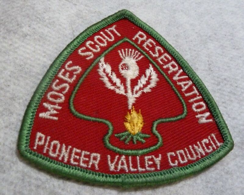 Boy Scouts BSA Scouting Moses Scout Reservation Pioneer Valley Council Patch