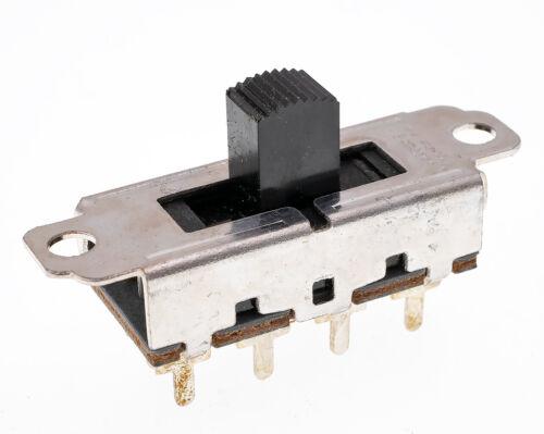 Lot of 5, Switchcraft 46313MDRX DPTT Circuitry, Momentary, Center Return, NOS