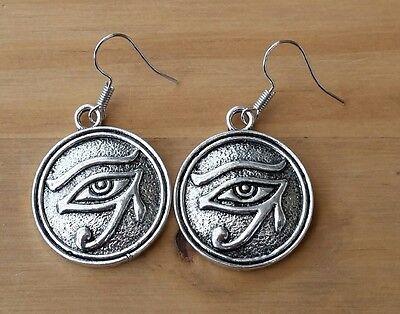 MEDAL EARRINGS WHITBY GOTH STEAM PUNK EGYPTIAN HALLOWEEN GIF (Halloween Gifs)