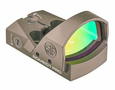 Sig Sauer SOR1P103 Romeo1Pro, 6 MOA, 1.0 MOA Adjust, Steel Shroud - FDE