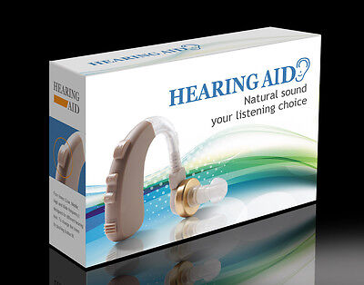 Powerful Bte Hearing Aids Aid Digital 4ch Sound Amplifier...