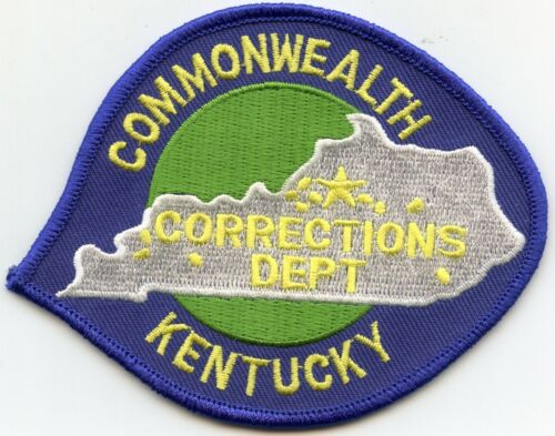 KENTUCKY KY STATE DEPARTMENT OF CORRECTIONS DOC sheriff police PATCH