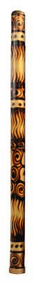 "Didgeridoo Bamboo burned 47"" long (with bag)"
