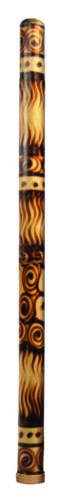 "Didgeridoo Bamboo burned 47"" long (Didgeridoo only) molded and cleaned"