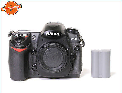 Nikon D200 Digital 10MP SLR Camera Body,Battery &  Free UK Post