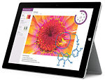 Microsoft Surface Pro Surface Pro 3 128GB, Wi-Fi, 12in - Silver