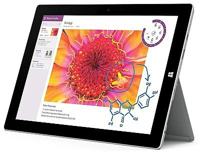 Microsoft Surface 3 Tablet PC 32GB WLAN, 10.8 Zoll, Windows 8.1PRO -00003 DE NS (10 Zoll Surface Pro 3)