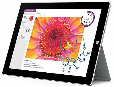 Microsoft Surface 3 Tablet PC 32GB WLAN, 10,8 Zoll, Windows 8.1PRO 7G7-00004 -NS (10 Zoll Surface Pro 3)