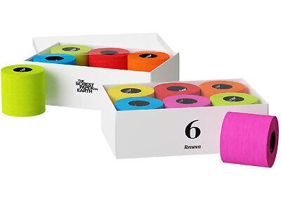 Toilettenpapier Farbig Geschenkbox mit 6 Rollen