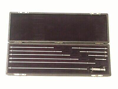 Brown Sharpe 267 Depth Gage Set 0-10 .001 In Storage Case