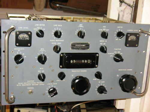 Collins designed R-390A Receiver mfg by Stewart Warner, refurbished, guaranteed.